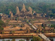 Cambodia sees modest growth in international arrivals