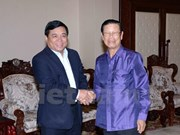 Lao Deputy PM pleased with Vietnamese delegation's visit