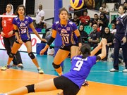 Thailand tops at the VTV International Women's Volleyball Cup
