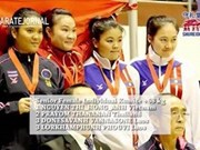 Vietnam rank fourth in Thailand's Karate-do championship