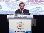 AMM 48 confirms solidarity in establishment of ASEAN Community