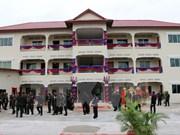 Vietnam helps Cambodia build army camp