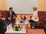 Deputy PM meets senior EU, Australian officials