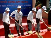 Work starts on kindergarten in Ly Son island