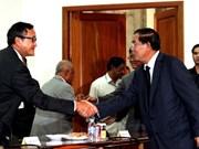 Cambodian parties discuss legal affairs