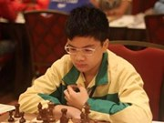 Vietnamese master wins gold in int'l chess competition