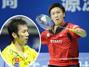 Minh knocked out of Total BWF Championships