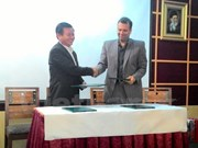 Can Tho city partners with Iranian province