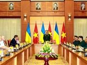 War veterans from Ukraine welcomed in Hanoi