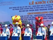 Hue city builds water treatment plant