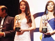 Actress Anh takes home int'l award