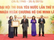 Labour sector honoured with Ho Chi Minh Order