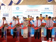 HCM City expanded water plant inaugurated