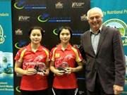 Vietnamese shuttlers win gold at Eurasia Bulgaria Int'l 2015