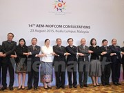 ASEAN Economic Ministers hold consultations with dialogue partners
