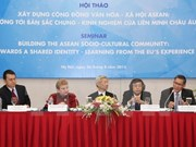 ASEAN, EU share experiences in community development