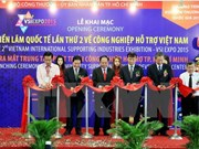 Support industry expo opens in HCM City