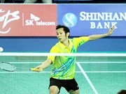 National hopeful advances to third round of Yonex Sunrise Vietnam Open