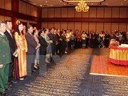 Laos celebrates Vietnam's national events