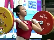 Weightlifters turn up trumps at Asian weightlifting championship