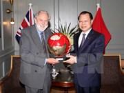Deputy PM meets UK trade envoy during Europe visit