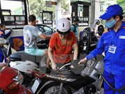 Petrol prices down 816 VND per litre
