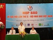 Over 500 delegates join 10th Vietnam Journalists Association Congress