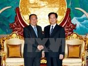 Vietnam, Laos vow to treasure bilateral ties