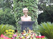 Statue of President Ho Chi Minh inaugurated in Mexico