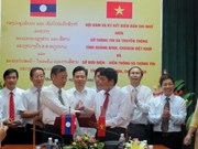 Vietnamese, Lao localities bolster communications links