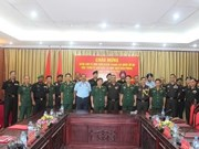 Indian Army War College delegation visits Vietnam