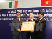 Ireland's energy expert receives Friendship Medal