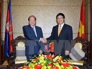 Vietnam, Cambodia foster comprehensive cooperation ties