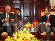 State Bank Governor receives former UK Prime Minister
