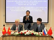 Ho Chi Minh City, Moscow Oblast boost cooperation