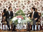 State leader welcomes former RoK President