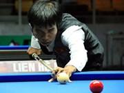 Cueist Tran Quyet Chien ranks 12th in world