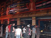Nearly 20 killed at karaoke bar blaze in Indonesia