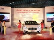 Thaco launches made-in-Vietnam Kia Sedona
