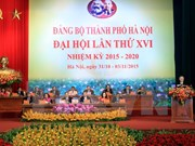 Hanoi holds 16th Party Congress