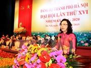 Hanoi wraps up 16th municipal Party Congress