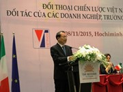 Vietnam, Italy enhance economic cooperation