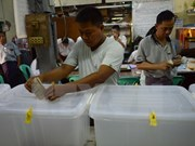 Myanmar goes to the polls