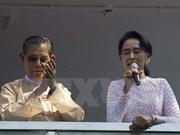 Myanmar announces 106 parliamentarians-elect