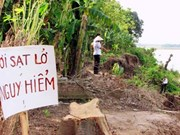 Thousands in Ben Tre face high risk of landslides