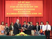 MoU signed to bolster Vietnam-Cuba multifaceted ties