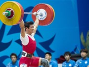 Vietnamese weightlifters set sight on Rio Games
