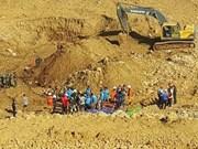 Myanmar: at least 90 killed in massive landslide