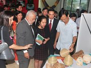 Venezuelan handicrafts showcased in northern province