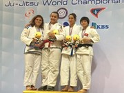 Lan bags bronze at Jujitsu World Championships
